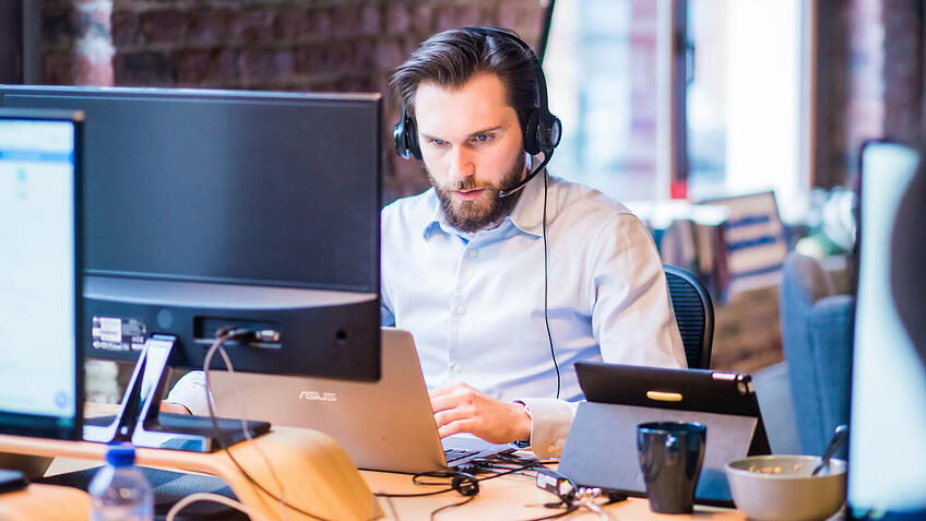 Reducing turnover rates at call centers